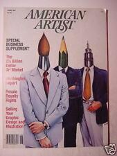 AMERICAN ARTIST June 1981 PETER JOGO JOHN WINSLOW +++