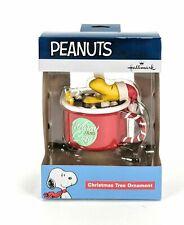 2019 Hallmark Peanuts Woodstock Warm and Cozy Christmas Tree Decoration Ornament