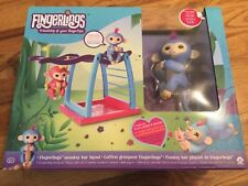 WowWee Fingerlings Monkey Bar Playset includes 1 Fingerling Exclusive Monkey Liv