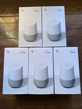 New Google Home White Speaker Google Assistant EXPRESS SHIPPING TODAY IN HAND