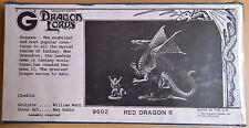 Grenadier Fantasy Lords - 9602 Red Dragon II (Mint, Sealed)