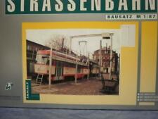 H & P 1:87 STRASSENBAHN TATRA T4 Schienenschleifwagen Dresden