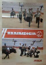 poster affiche magazine revue rock france RAMMSTEIN 82x56cm