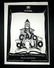 "Original Cuban Movie Poster""El GATO DE LILO.CAT""Children Theater.Only Few Made."