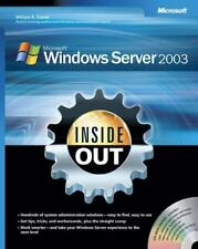 Microsoft Windows Server[Tm] 2003 Inside Out [Pro - Other]