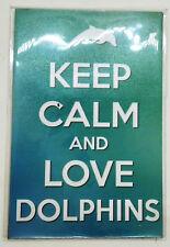 Love Dorphins Magnet Design Poster funny joke pic Fridge Collectible