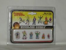 Woodland Scenics Scenic Accents Kids at Play #A1830 HO Scale