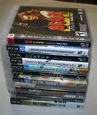 Playstation 3 Ps3 12 Game Lot Free Shipping