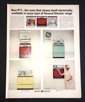 Life Magazine Ad GENERAL ELECTRIC Range 1968 Ad