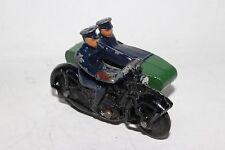 1950's DINKY TOYS MODEL No.42b POLICE. MOTORCYCLE PATROL, Nice Original