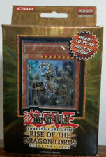 Yu-Gi-Oh! 1st Edition RISE OF THE DRAGON LORDS STRUCTURE DECK NEW FREE SHIPPING!