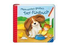 Mein erstes großes Tier-Fühlbuch von Sandra Grimm (2012, Ringbuch)