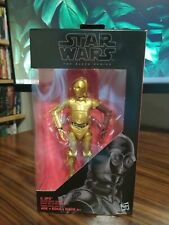NEW STAR WARS THE BLACK SERIES #29 C-3PO (RESISTANCE BASE) 6-INCH CARDED FIGURE