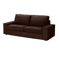 """SLIPCOVER for the 74 3/4"""" wide KIVIK Sofa (Loveseat), Tullinge Dark Brown, NEW"""