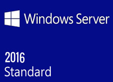 Server 2016 Standard 64bit Genuine Key product lifetime code