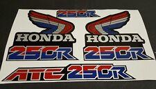 1986 HONDA ATC 250R DECALS GRAPHICS STICKER  ATC250R 86 FITS 85 1985 3 WHEELER