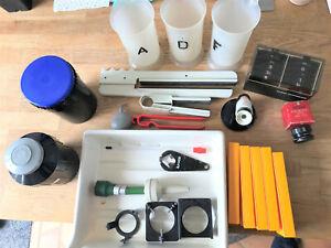 Photographic developing equipment assortment