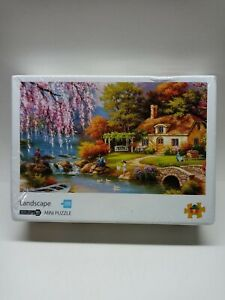 England Cottage Mini Puzzle 1000 Piece New! Factory Sealed.