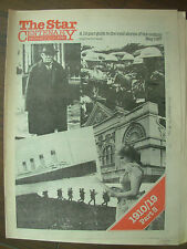 VINTAGE NEWSPAPER SHEFFIELD STAR CENTENARY MAY 1987 PART 5 - 1910-1919