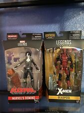 Marvel Legends DEADPOOL -DOMINO LOT of 2 figures