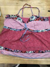 Ladies Pink Vest Top, Size 26- Next