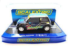"Scalextric ""Team Scalextric"" Mini Cooper UK Club Car 1/32 Scale Slot Car C3428"