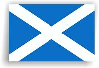 Scotland Flag Wall Sticker, 3 Sizes available vinyl decal sticker