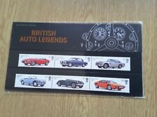 GB - PRESENTATION PACK - 2013 - BRITISH AUTO LEGENDS with miniature sheet