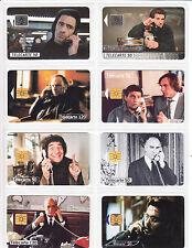 8 TELECARTE / PHONE CARD .. FRANCE 50U PACK CINEMA MOVIE STARS MIX 1 PUCE C.30€