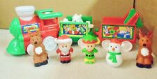 FISHER  PRICE  LITTLE  PEOPLE  MUSICAL  CHRISTMAS  TRAIN  (C)