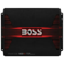 Boss Phantom Pf1800 Car Amplifier - 1800 W Pmpo - 4 Channel - Class Ab -
