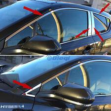 Chrome Window Frame Upper + Center Cover Trim Fit Toyota CHR C-HR 2016 2017