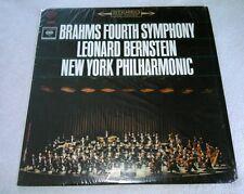 Brahms Fourth Symphony Leonard Bernstein New York Philharmonic LP