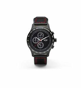 Original MINI Jcw Reloj John Cooper Obras Negro Muñeca Nuevo 80262454547