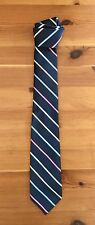 TCP The Childrens Place Boys Necktie Tie Striped Navy Multicolor Size 8-14