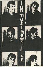 IAN MATHEWS-LIVE NEW YORK 1988 CASSETTE(IM)