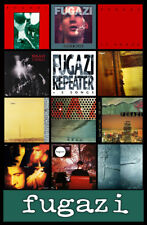 "FUGAZI album discography magnet (4.5"" x 3.5"") punk rock minor threat bad brains"