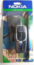 100% Original Nokia 3310 Cover Front Schale  + Akkudeckel Polar Blue