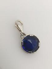 Genuine Thomas Sabo CC1223 BLUE CORUNDUM Charm Sterling Silver 'New' RRP $129