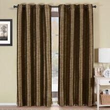 Modern Geneva Lined Energy Saving Black-Out Grommet Curtain Panel (Single)