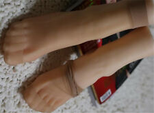 Full Silicone Female Legs Feet 1pc Right Mannequins Shoes Socks Model Sz 36 Form