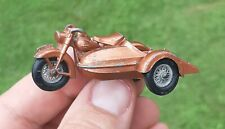 Vintage Matchbox Lesney No. 66 Harley Davidson Motorcycle Toy with Sidecar