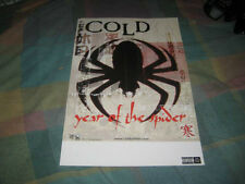 COLD-(year of the spider)-1 POSTER-11X17-NMINT-RARE