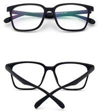 Clear Lens Black Frame Glasses Designer Hipster Nerd Glasses Geek Mens Womens