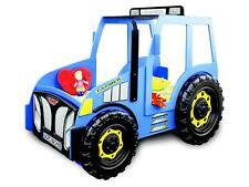 Bauer Farmer Camion Enfants Lit D'Enfant pour Jeunes Tracteur Bleu Neuf Lits