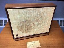General Electric GE  Porta-Fi Speaker Channel B Console Stereo SP43 Maple HTF