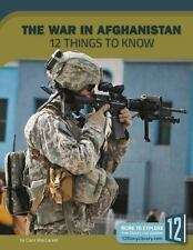 THE WAR IN AFGHANISTAN - MACCARALS, CLARA - NEW BOOK