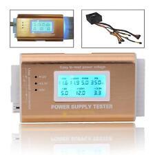 Digital LCD PC 20/24 Pin 4 PSU ATX BTX ITX SATA HDD Power Supply Tester Repair