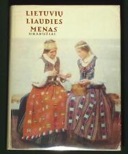BOOK Lithuanian Folk Costume ethnic clothing history fashion peasant textile art