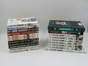 Job Lot Japanese Manga Books Graphic Novels Tokyo Ghoul Deadman Wonderland(C859)
